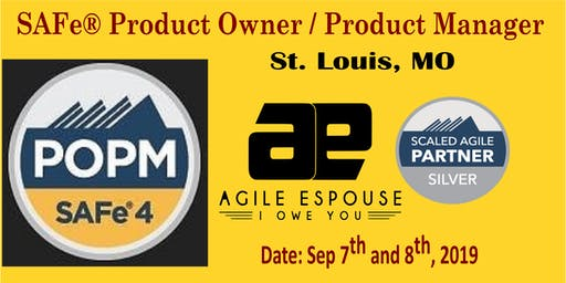 SAFe® Product Owner / Product Manager (POPM) Workshop - St. Louis, MO