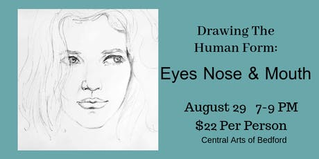 Drawing the Human Form: Eyes, Nose & Mouth tickets