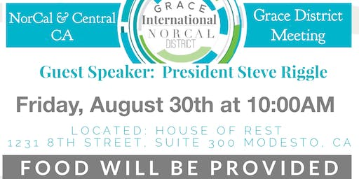 NorCal & Central CA Grace District Meeting