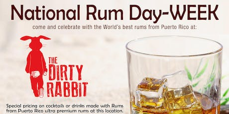 Pop-up Rum Bar at The Dirty Rabbit Wynwood tickets