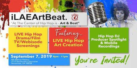 iLAEArtBeat-An Art & Hip Hop Fusion tickets