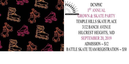 Grown & Skate Party