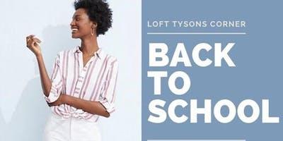LOFT Loves Teachers! A Back to School Event