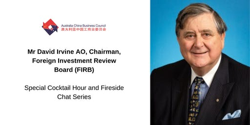David Irvine AO (FIRB) speaks about Australia's foreign investment system