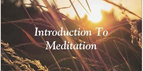 Simple, Easy, Every Day Meditation Workshop