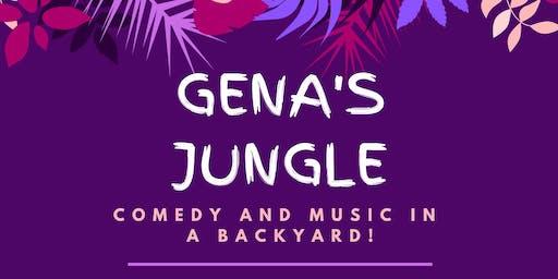 Gena's Jungle (backyard comedy show) feat. musical guest Myylo!