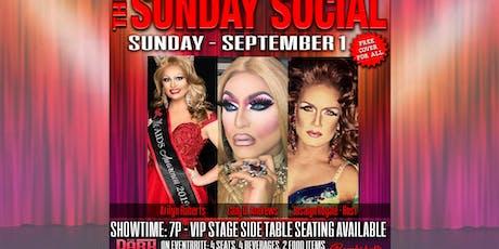 September 1 Sunday Social Show tickets