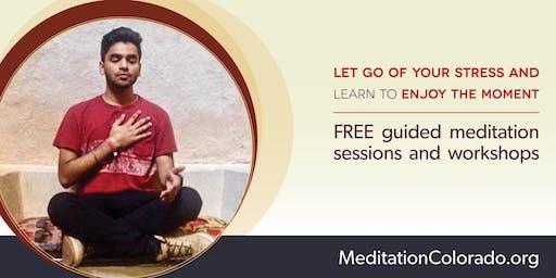 Free Meditation Classes in Aurora Municipal Center