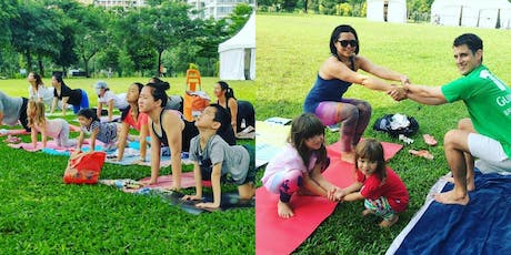 Complimentary Outdoor Family Yoga at Bishan Park (Sep) tickets