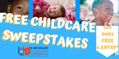 FREE CHILDCARE SWEEPSTAKES tickets