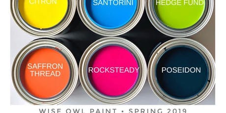Furniture Painting Workshop 101- Paint your own piece. tickets