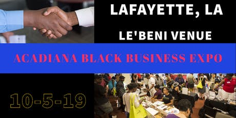 Acadiana Black Business Expo tickets
