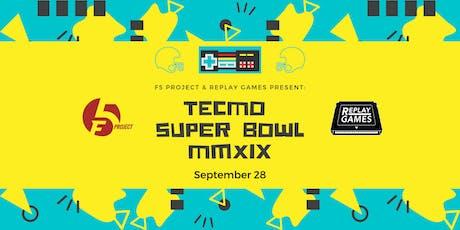 Tecmo Super Bowl Tournament Fundraiser tickets