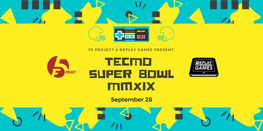 Tecmo Super Bowl Tournament Fundraiser