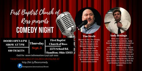 First Baptist Church of Ross Comedy Night tickets