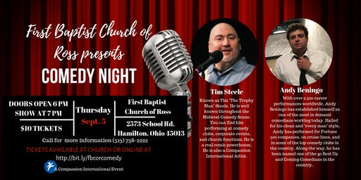 First Baptist Church of Ross Comedy Night