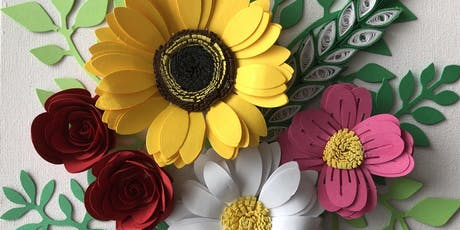 Paper Quilling Flower Garden Workshop tickets