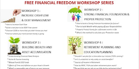 Financial Foundation - Workshop @ Toronto Downtown on Sep 26th tickets