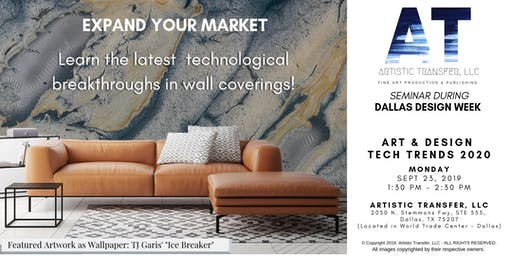 Art & Design Technology Trends 2020 - Dallas Design Week