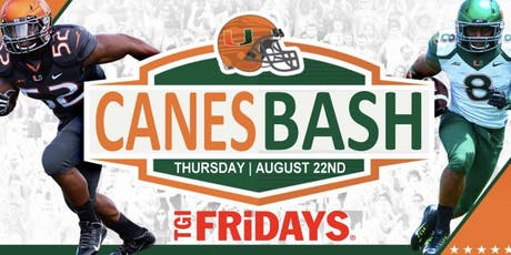 "Annual University Of Miami "" Canes Bash "" tickets"