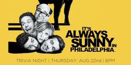 It's Always Sunny in Philadelphia Trivia Night tickets
