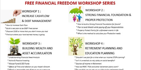 Finance 101 - Financial Literacy Workshop @ Mississauga on 31st Aug tickets