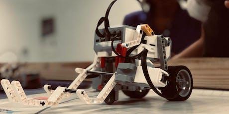 Matrícula Programa de Robótica Competitiva para niños/as entradas