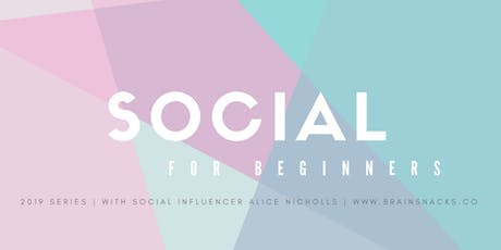 Social Series with Influencer Ali Nicholls tickets
