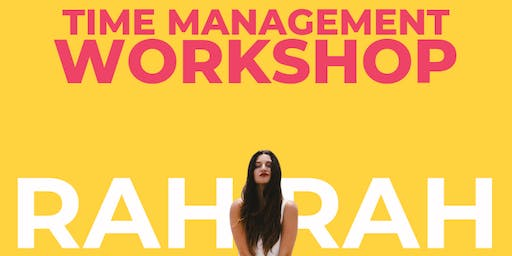Rah Rah Time Management Workshop