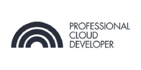 CCC-Professional Cloud Developer (PCD) 3 Days Training in San Jose, CA tickets