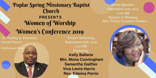 PSMBC WOW Women's Conference 2019--Women of Worship