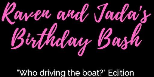 Raven and Jada's Birthday Boat Ride