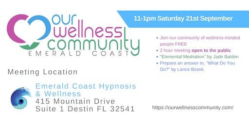 Emerald Coast Wellness Community Meeting