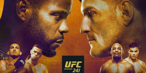UFC 241 Join us for the Big Fight