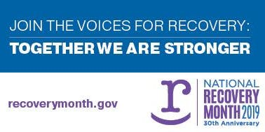 Stronger Together Sandy Springs Recovery Month Celebration