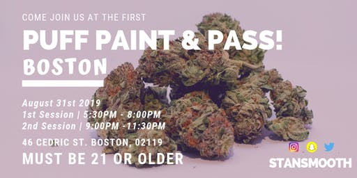 Puff Paint & Pass (late)