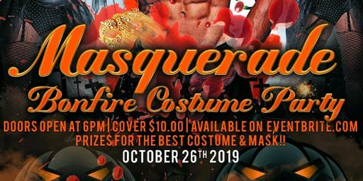 Halloween masquerade and costume party