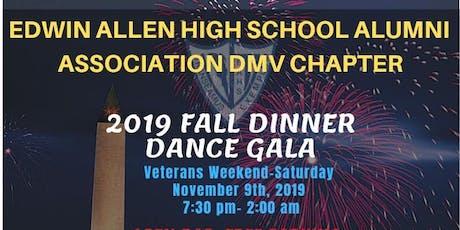 Edwin Allen Alumni Association DMV Chapter 2019 Fall Dinner Dance Gala tickets