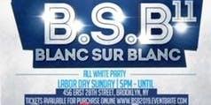 BLANC SUR BLANC 11 (WHITE ON WHITE) - ALL WHITE DAY PARTY EDITION
