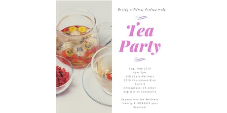 Beauty & Fitness Professional's Tea Party tickets
