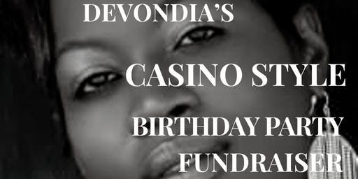 "Copy of DeVondia's ""Casino Style"" Birthday Fundraiser"