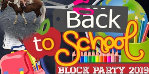 NGTPC Back2School Block Party 2019