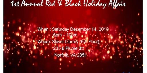 Red & Black Holiday Affair