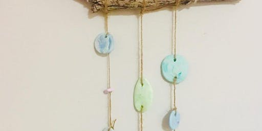 Polymer Clay Wall Hangings and a High Tea