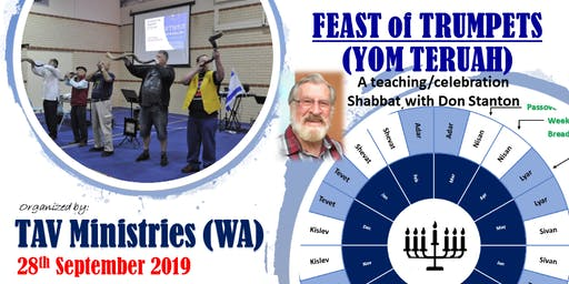 Feast of Trumpets YOM TERUAH 2019 with Don Stanton (of Maranatha Revival Crusade)
