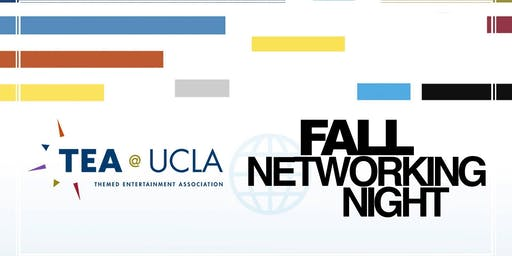 Themed Entertainment Association (TEA) at UCLA Fall Networking Night 2019