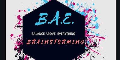 BAE Brainstorming Clarity Accountability Session