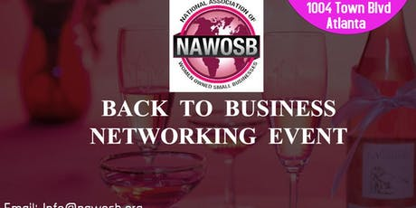 BACK TO BUSINESS: NETWORK MIXER tickets
