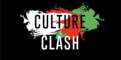 Culture Clash (Wine Vs Twerk edition) Open Bar + Open Buffet @Djyungb Guest list  tickets