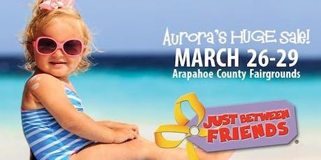 FREE ADMISSION! JBF Aurora Spring 2020 tickets